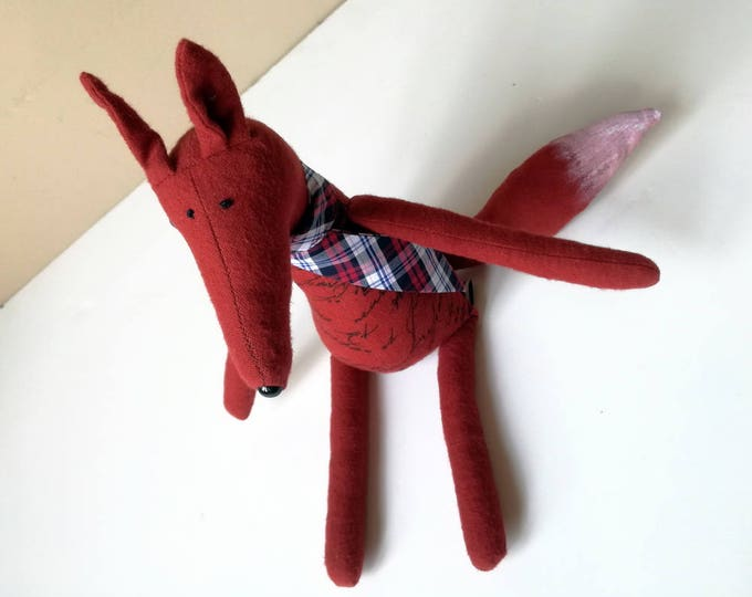 My Red Fox stuffed animal toy for children
