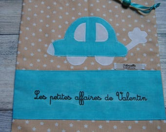 car blanket, small bag, for Valentine's day business