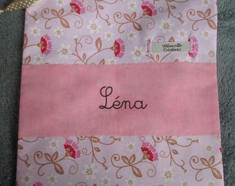 bag, personalized blanket for Lena.