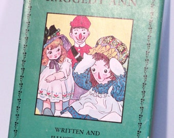 Adventures of Raggedy Ann by Johnny Gruelle vintage book
