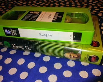 Kung Fu VHS tape with green spool swap