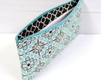 Zippered Pouch - Cash Budget System - Coupon Organizer - Pencil Pouch - Cosmetic Case - Category Dividers Available - READY to SHIP