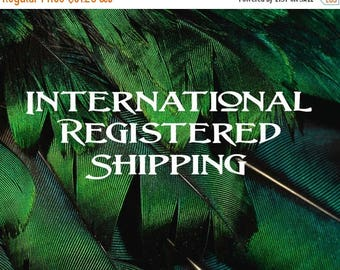 Registered Shipping for International Addresses
