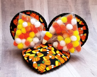 Candy Corn Mouse Ears FascinEar™ Fascinator