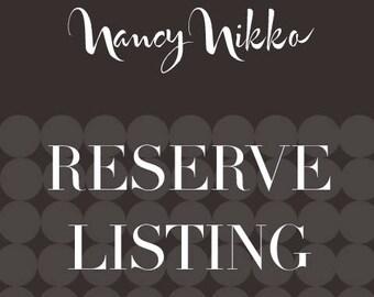 Reserve listing for Jessica
