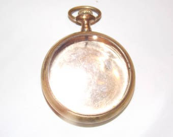 Gold Antique 43mm  Pocket Watch Case
