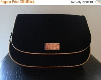 Now On Sale Vintage Christian Dior Bag, Parfum Make Up Bag, Designer Purse, Cosmetic Bag, Vanity Storage, Accessory Case, Black Velvet Clutc