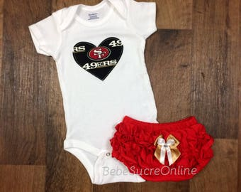 San Francisco 49ers Girls Outfit