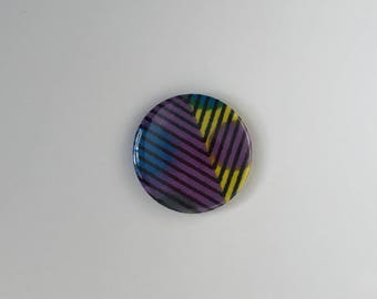 African Wax Print Fabric Magnet