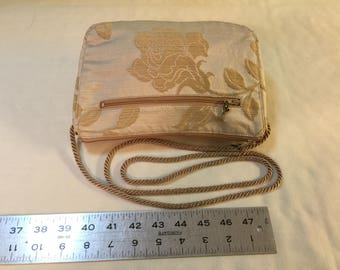 Cross body rose purse