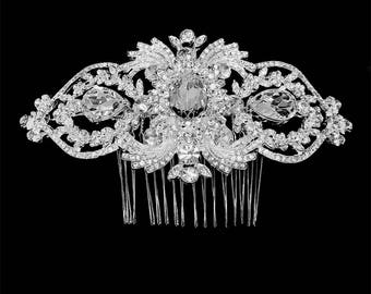 Crystal comb, Bridal comb, Wedding hair accessory, Bridal hair comb, bridal hair accessory, Ballroom Rhinestone Hair Comb, bridal headpiece