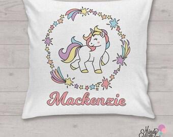 Unicorn - Personalised cushion