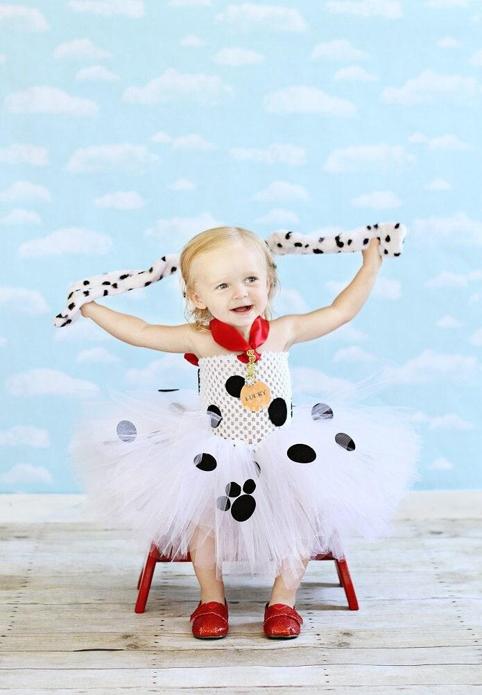 Dalmatian Costume With Tutu