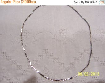TWICE A YEAR, 25% Off Vintage S Link chain necklace. Sterling silver.