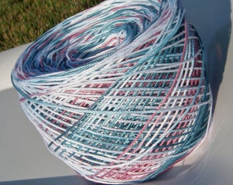 Lizbeth Tatting Thread -  Hand Dyed - Size 3 - Casual Friday - Your Choice of Length - Large Project Size