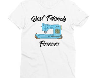 Best Friends Forever Sewing Machine Shirt