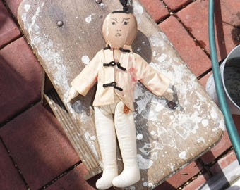 Vintage Asian infulenced rag doll