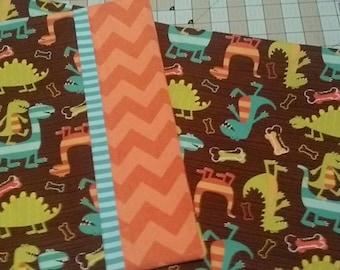 Nap Mat Set - Dino dudes - pillowcase, mat case, blanket