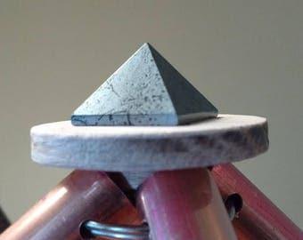 Hematite Capstone for Copper Pyramid