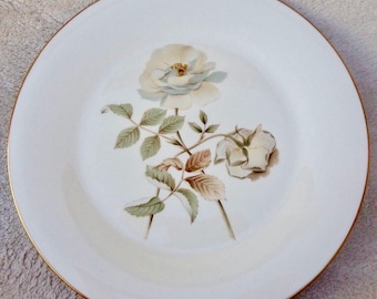 Vintage Royal Doulton Yorkshire Rose China Plate