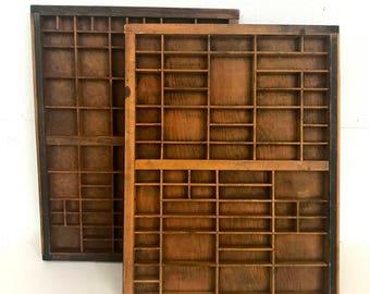 Vintage Industrial Printer's tray