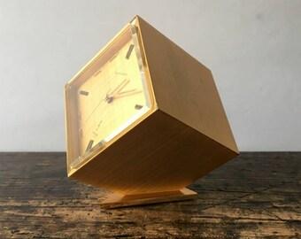 Vintage Bucherer Imhof Swiss Clock, As-Is