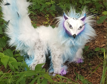 OOAK Art Doll Cat Bird Creature Hybrid