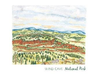 Wind Cave National Park Prints