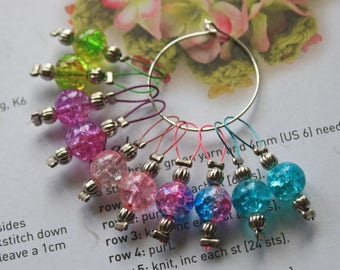 10 Knitting stitch markers dream keepers
