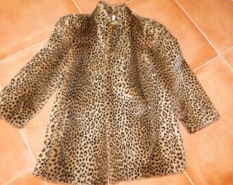 Gorgeous Leopard Faux Fur Coat - Fabulous Style