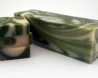Natural soap loaves 3lbs/soap loaf/cool fresh aloe/ soap bars/ soap favors/kids soap/ mens soap/sunburn soothing soap