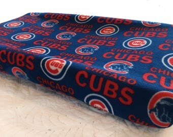 Chicago Cubs Baby Changing Pad Cover