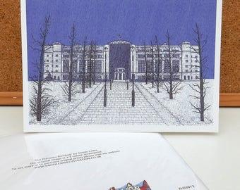 Pensions Building - Leeds Greeting Card