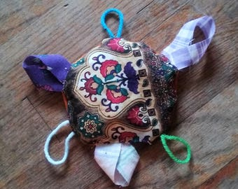 Catnip Cat Toy, Handmade Happy Hippie Cat Dried Catnip Toy