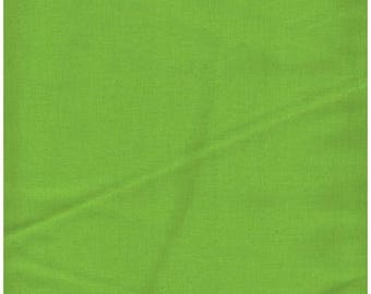 ON SALE Lime Green Fabric, Solid Green Fabric, Quilters Solids, Fabric, 01153A