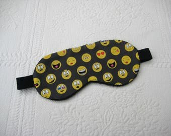 Sleeping mask, sleeping mask model emojis