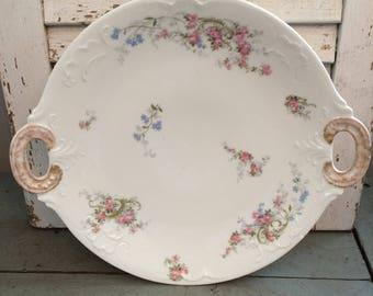 Vintage J. Pouyat Limoges Cake Platter