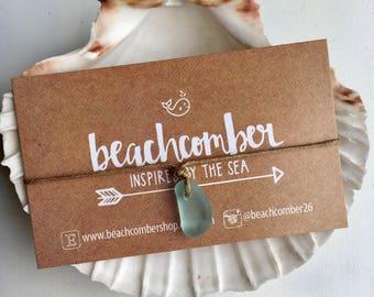sea glass bracelet anklet, eco friendly beach jewelry