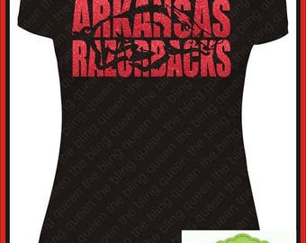 Arkansas Razorbacks CUTTING FILE for Silhouette, Cricut, or other cutters