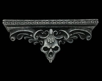 Vampyre Skull Shelf