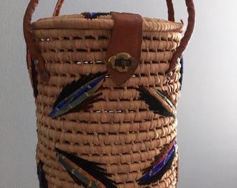 70s Cylinder Handbag