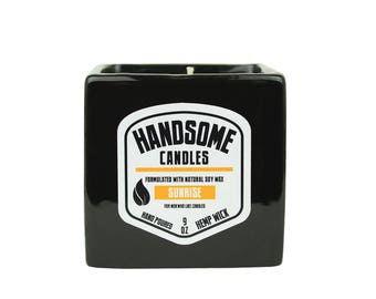 Sam's Natural - SUNRISE Handsome Candle - Soy Wax - Gifts - Natural, Vegan + Cruelty-Free