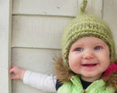 winter baby pixie hat sizes newborn to adult photo prop