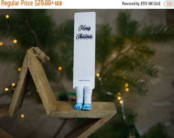 BACK TO SCHOOL 20% off // Yeti bookmark // Bigfoot unusual and cool winter gift for father // Back to school gift for student, teacher //