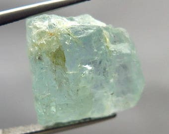 25.32 ct Natural Rough Aquamarine  Light Blue Africa Unheated