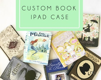 Custom Book iPad, iPad mini, iPad Air, iPad Pro case