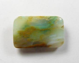 Peruvian Opal cabochon, 17x28x4 mm, rdesigner cabochon, gemstone cabochons, flat back cabochons, natural stone cabochons,small cab (po21471)