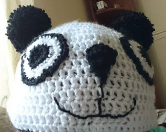 Panda Beanie Hat - Made To Order