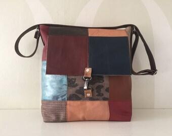 Patchwork Leather Bag VanStoel#213