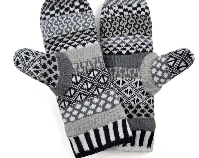 Solmate Accessories - Midnight Fleece Lined Mittens Limited - Available to order through midnight November 27th!